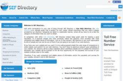 SEF Directory