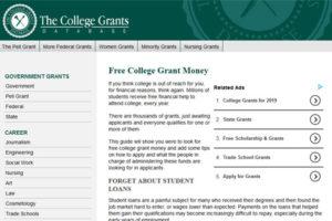 The College Grant