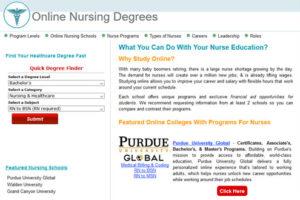 Online Nursing Degrees